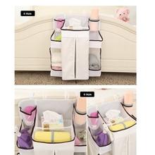 Multi-functional Baby Crib Children's Bed Hanging Bag Bedroom storage diapers bottle Bedding Accessories Baby Bedding Bumper