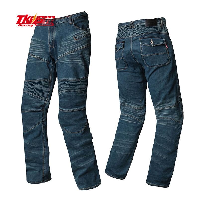 Здесь продается  Newest 2017 Komine Motorpool 718  Slacks Jeans Motorcycle Ride Jeans Leisure Loose Version with Protect Equipment  Автомобили и Мотоциклы