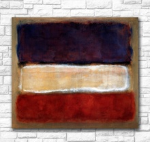 Wall Pictures For Living Room Abstract Mark Rothko Untitled (Purple, White, and Red) Canvas Art Home Decor Modern Oil Painting