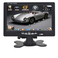High Definition 7inch Digital LCD Monitor 2way RCA Video Input V1 V2 Ideal For DVD VCR
