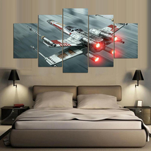 Star War Wall Art Canvas Painting Home Decor Artwork Science Fiction Movie HD Print 5 Piece For Living Room