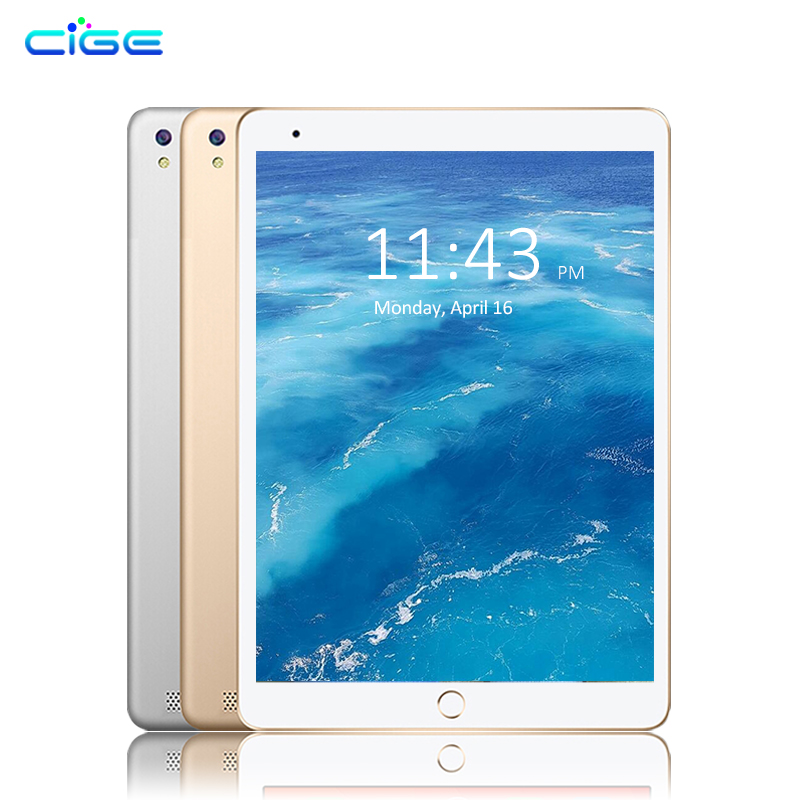 CIGE Global Firmware Ultra Slim Android 6.0 Tablet PC 10.1 inch 1280*800 Tablets Octa Core 4GB RAM 64GB ROM Dual SIM WIFI GPS free shipping 10 inch tablet pc 3g phone call octa core 4gb ram 32gb rom dual sim android tablet gps 1280 800 ips tablets 10 1