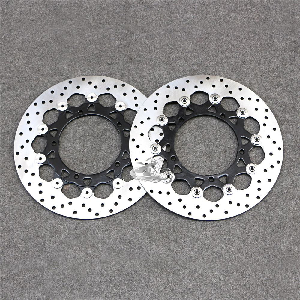 Floating Front Brake Disc Rotor For Motorcycle Yamaha FZ1 1000 Fazer 2006-2009 & YZF-R1 2007-2014