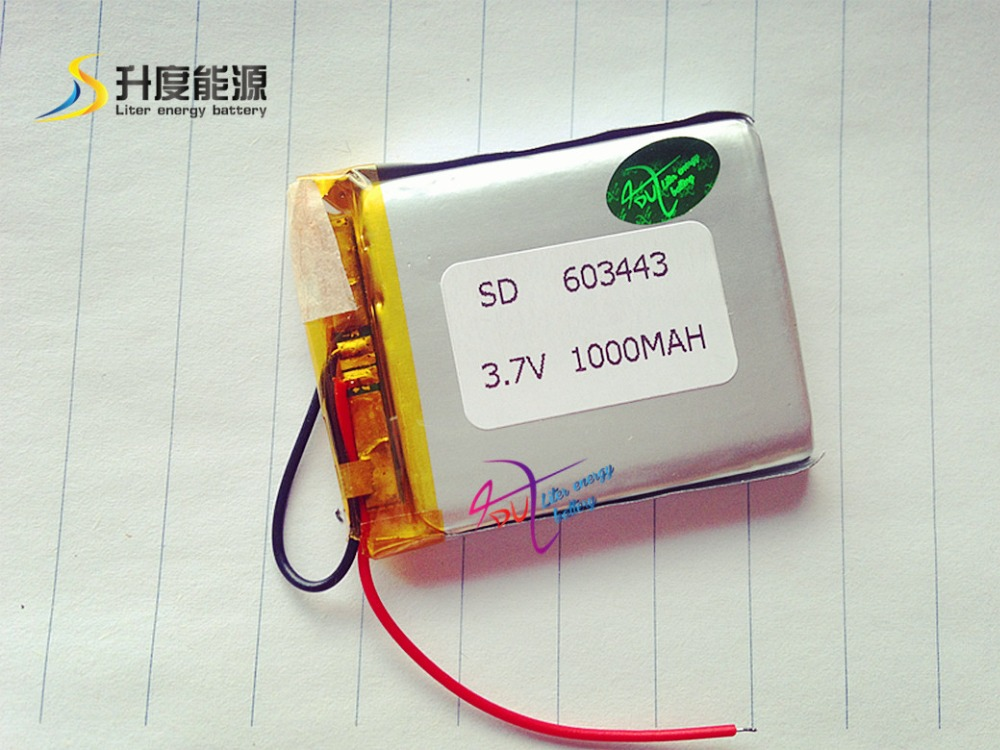 Tablet polymer battery MP3, MP4...