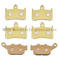 Motorbike Brake Pads For Honda CB400 SF (F2V/F3T) Super 4 (NC31) 1996 1997 Motorcycle Front Rear brake pads