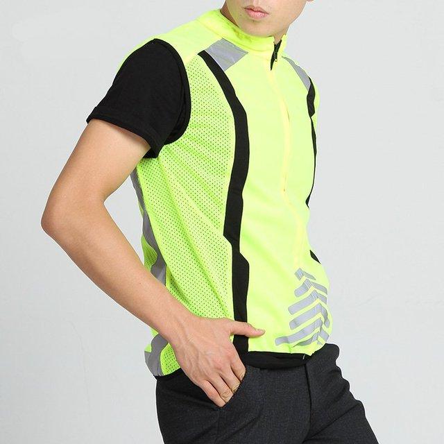 Reflective safety clothing vest vest sports safety protection