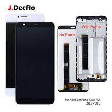 LCD Replacement For ASUS Zenfone Max Plus M1 ZB570TL X018DC LCD Touch Screen Digitizer Assembly w Frame 5.7