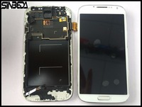 Sinbeda Cheap Price TFT LCD Screen Display Digitizer Frame Assembly For Samsung Galaxy S4 IV I9500