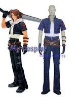Anime Kingdom Hearts Kingdom Hearts Squall cosplay costume for Halloween Cosplay parties Men Uniform Summer Shirt Clothing