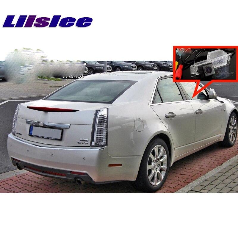 Liislee Voiture Caméra Pour Cadillac CTS SRX XTS 2008 ~ 2014 rétroviseur Vue Arrière Back Up Caméra CCD Avec RCA