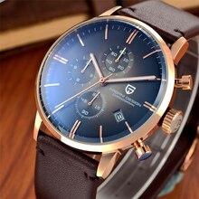 Nuevos PAGANI DES Relojes de Marca de Lujo Reloj de Los Hombres Reloj de Cuarzo de Cuero de Moda Casual Masculina Se Divierte el Reloj Fecha Reloj Montre Homme