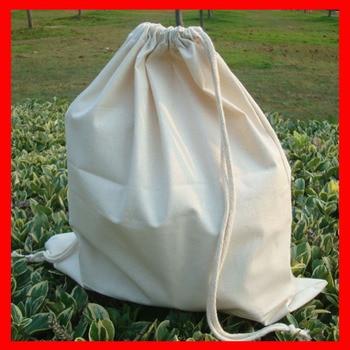 (100pcs/lot) size 20x30cm Wholesale 100% natural plain cotton drawstring bag 100pcs lot size 90x92cm 36x36 8 home textiles shopping cloth cotton drawstring bag wholesale