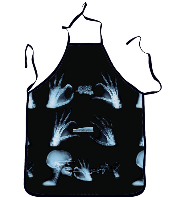 Skull Aprons for Kitchen, and BBQ