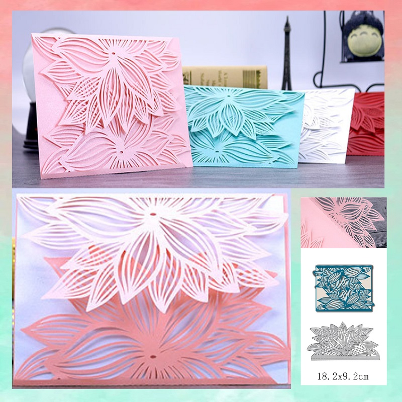 Rose Dies Collection Metal Cutting Dies Scrapbooking Album Decoration Stamps and Dies for Card Making Craft Dies Cut new 2019-in Cutting Dies from Home & Garden