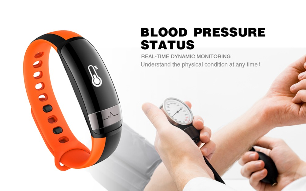 M6 Heart Rate Monitor Smart Wristband Waterproof Pedometer Bracelet Blood Fitness Tracker Wrist Band Watch M7 For Android iOS 4