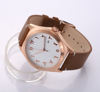 Japan Movement Date Function Watch Arabic Numerals Montres Homme