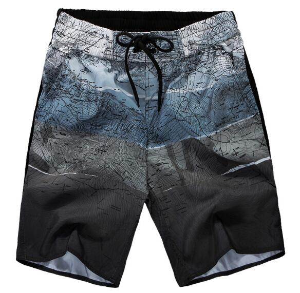 High quality Quick Dry Men's Swimming Trunks Summer Swim Briefs Swimming Shorts