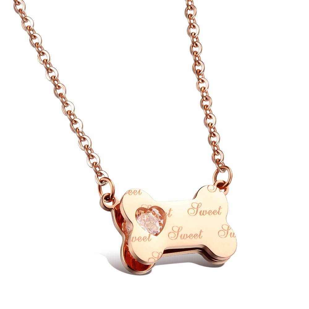 products necklace steel pits dog bone product stainless image pendant paws