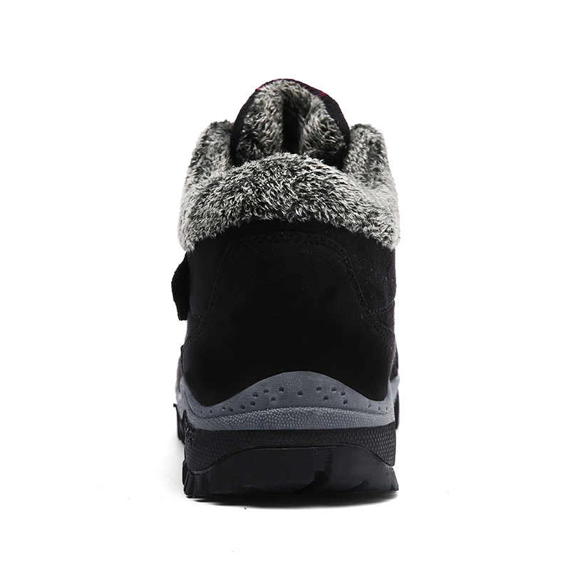 Kadın kar botları kış sıcak spor ayakkabı kürk bayan kauçuk ayak bileği Botas 2019 ayakkabı kadın Sneakers artı boyutu 41 Botas mujer