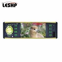 Hot Sale 4.1 Car Radio Stereo Player Bluetooth Phone AUX MP3 FM/USB/1 Din/Remote Control 12V Car Audio Car Electronics
