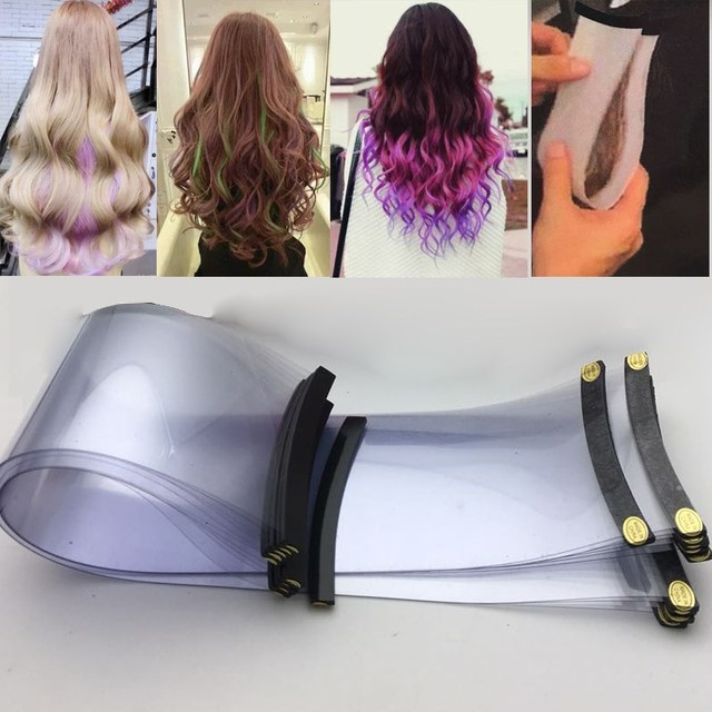 10pcs Magnetic Hair Dye Sheet Recycleable Separating Stain Dyeing ...