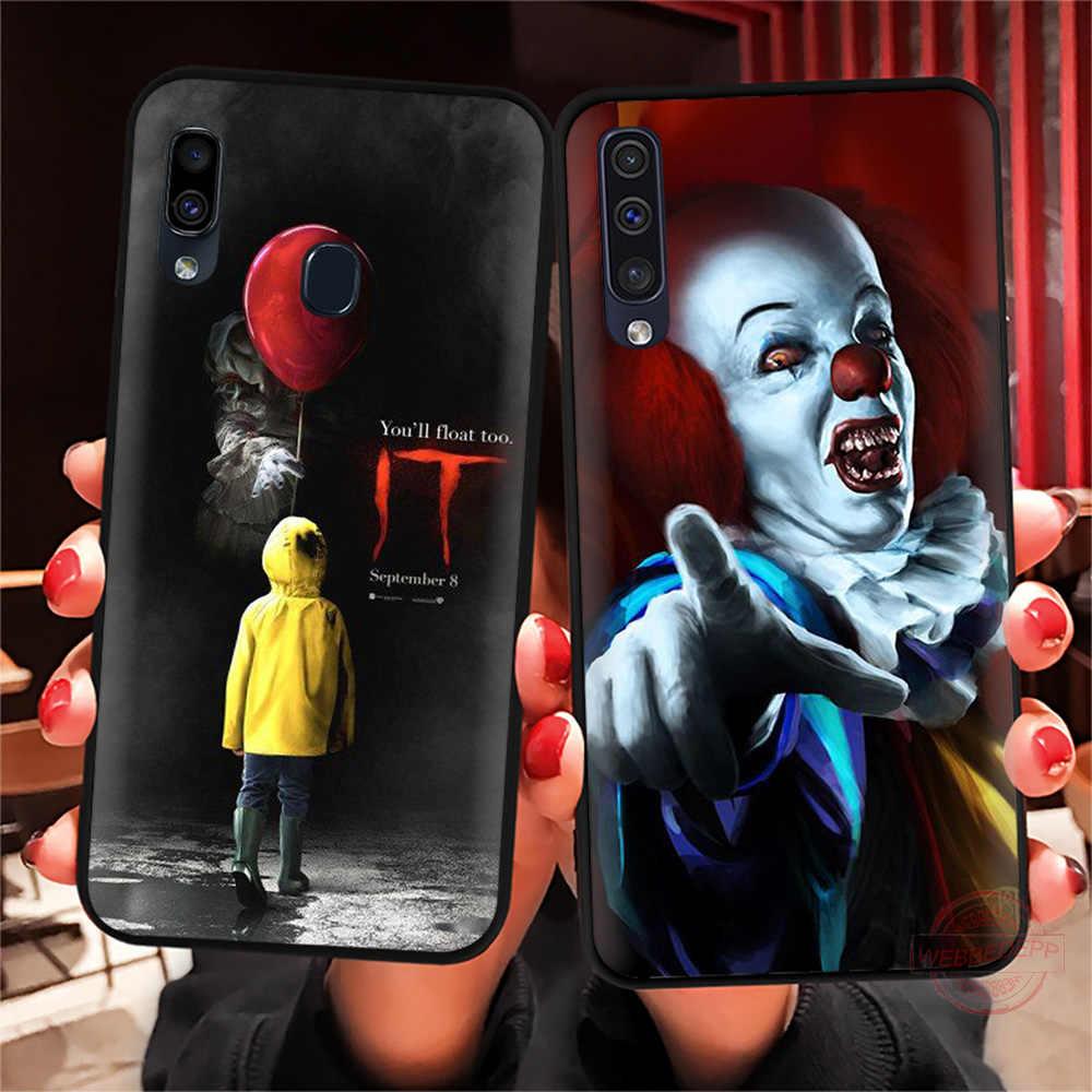 Webbedepp Teror Badut Ini Lembut untuk Samsung A10S A6 7 8 9 A10 20 A40 A50 A60 A70S m10 M20 30