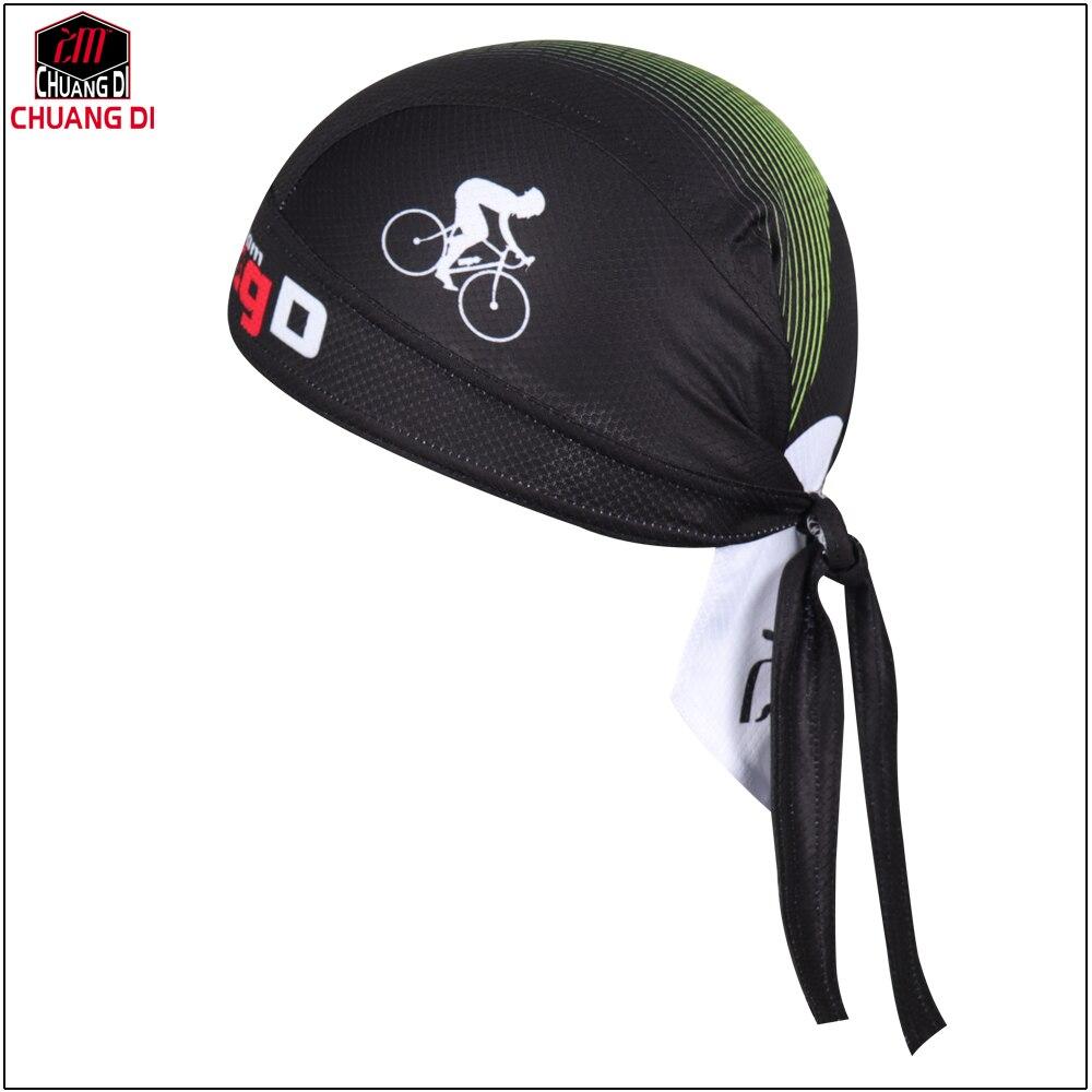 Prix pour ZM 2017 Nouveau Hommes Vélo cyclisme bandana pirate écharpe robe headsweats chapeaux jaune vélo chapeau principal d'usage