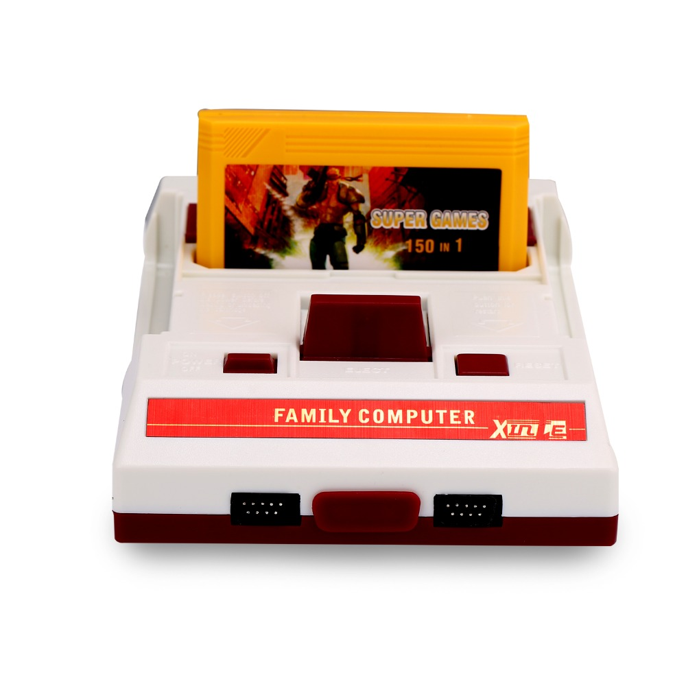 2017 Classic Retro Dual Controller Video Game Console 8 Bit For FC Classic Games Player Family