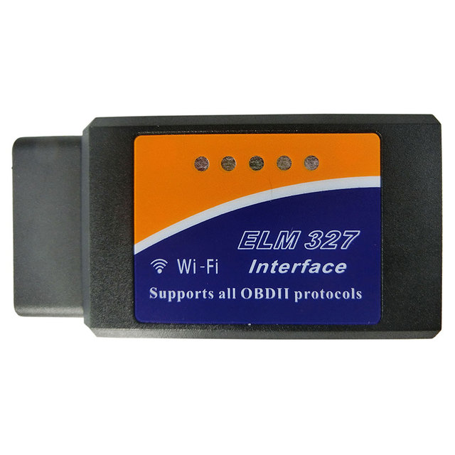 Newest ELM327 WIFI Auto Scan elm 327 Code Reader Scanner OBDII/OBD2 Interface 327 Wi fi Diagnostic Tool Works On IOS System