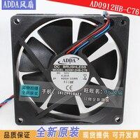 새로운 adda AD0912HB-C76 9020 dc12v 9 cm 초박형 cpu 냉각 팬