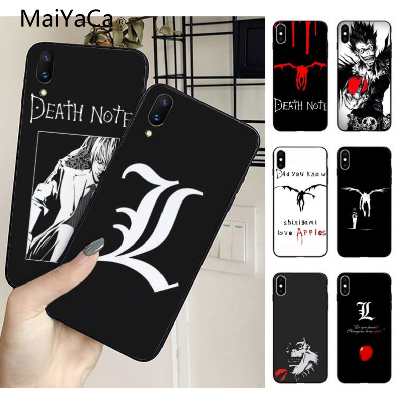 coque iphone xs death note