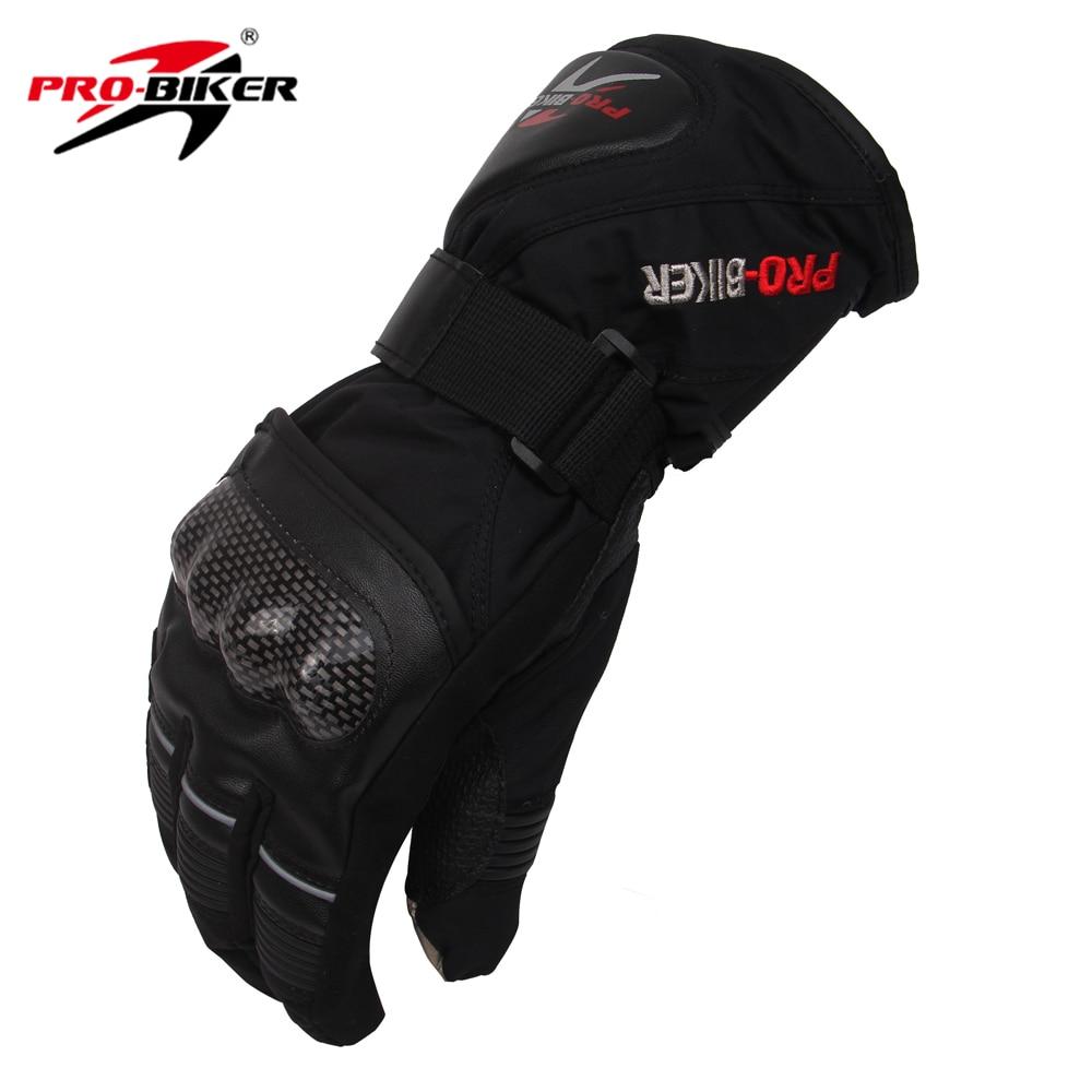 Motorcycle gloves xl - Pro Biker Skiing Snowboard Gloves Outdoor Sports Gloves Warming Moto Non Slip Motorcycle Glove Black M L Xl Hx 05