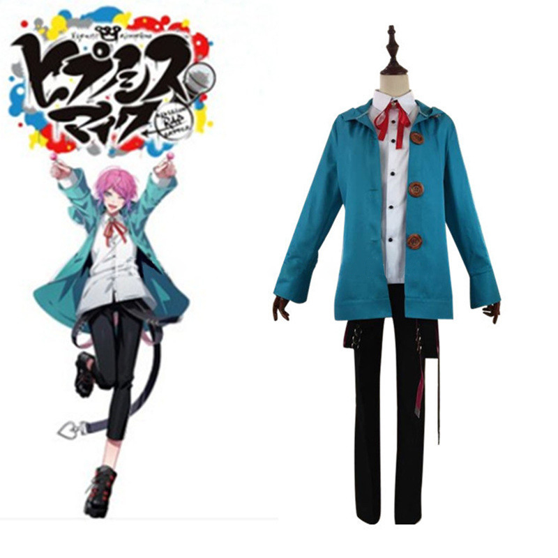 Division Rap Battle Cosplay Ramuda Amemura Costumes DRB Hypnosis Mic Fling Posse Cosplay Costume Custom Made