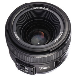 YONGNUO YN35mm 35mm F2N Lens Wide-Angle AF/MF Fixed Focus for Nikon D7200 D7100 D7000 D5300 D5100 D3300 D3200 D800 d5000 d7500