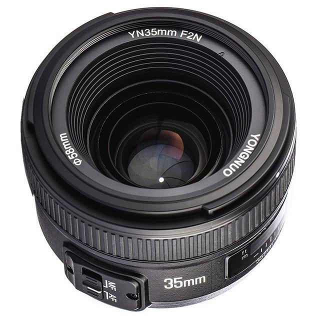 YONGNUO YN35mm 35mm F2N Ống Kính Góc Rộng AF/MF Cố Định Tập Trung cho Nikon D7200 D7100 D7000 D5300 d5100 D3300 D3200 D800 D5000 D7500