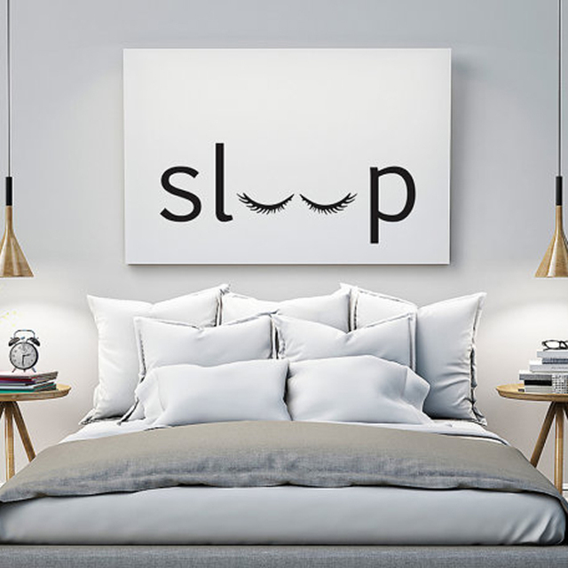 Charming Modern Pictures For Home Decoration On The Wall Canvas Art Painting Sleep  Print For Bedroom Livingroom