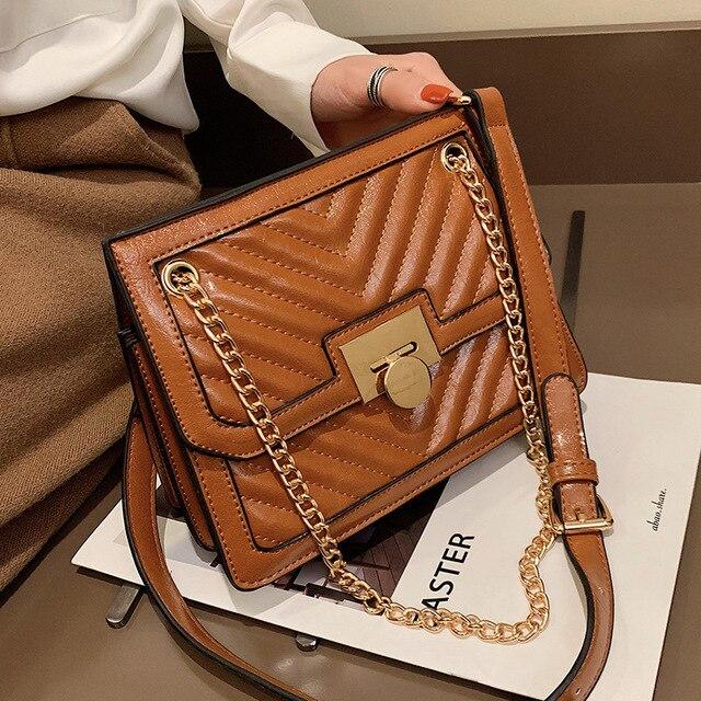 ef701fdacb4c 2019 New Fashion Luxury Handbag Bags Designer Brand Small Shoulder Crossbody  Cc Bag for Women Bolsa