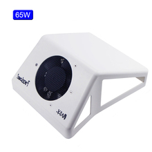 65W Strong Vacuum Suction Nail Art Equipment Adjustable Speed Nail Suction Duct Collector Fan Vacuum Cleaner For Manicure Tool 60w strong vacuum nail suction duct collector with big power fan vacuum cleaner for manicure tools nail art equipment