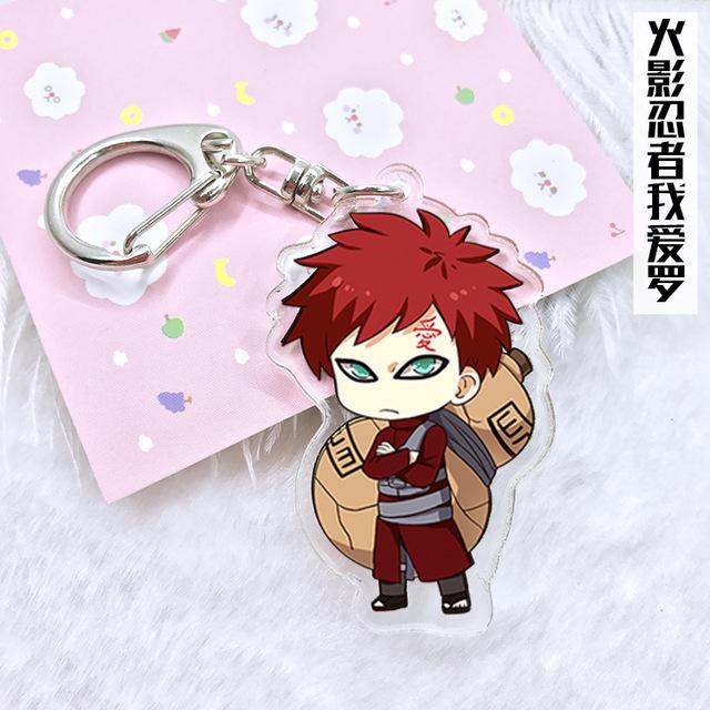 Keychain Naruto Akatsuki Members