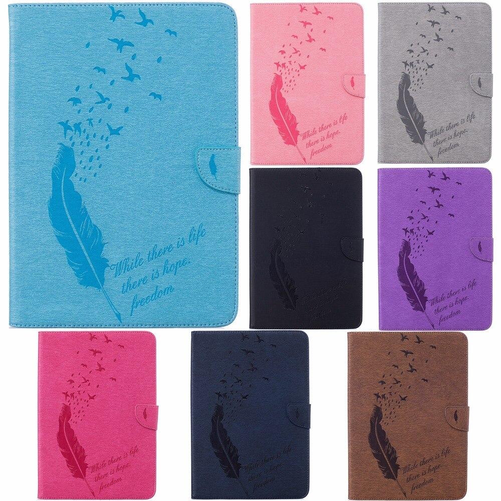 imágenes para PU Del Soporte Del Cuero de 3 Ranuras Para Tarjetas de Dinero de Bolsillo Incorporado Flip Cubierta Caso Cierre magnético para Samsung Galaxy Tab 10.1 SM-T580 T585