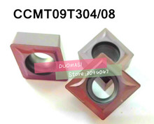 10pcs CCMT09T304/CCMT09T308 Carbide CNC inserts,CNC lathe tool,apply to stainless steel and processing for SCLCR/SCKCR