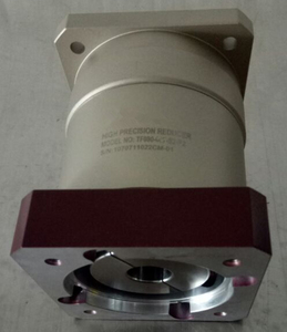Image 4 - 80 doppel klammer Spur gear planetary getriebe minderer 6 arcmin 3:1 zu 10:1 für NEMA34 86 schrittmotor eingang welle 14mm