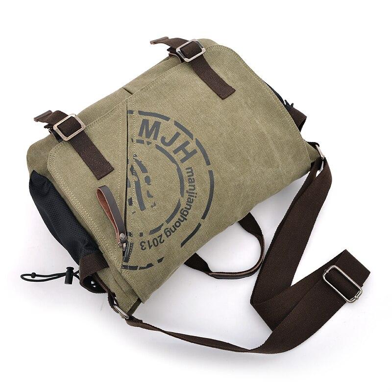 bolsa de ombro da lona Material Composição : Cotton
