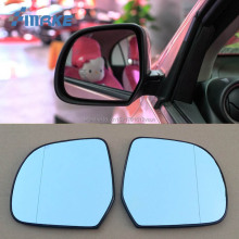 smRKE 2Pcs For Nissan March Rearview Mirror Blue Glasses Wide Angle Led Turn Signals light Power Heating