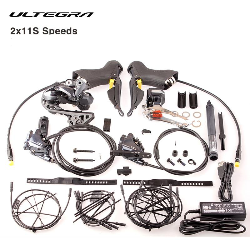 Shimano ULTEGRA R8050 R8070 Di2 pièces électriques groupe vélo de route 2x11 S vitesses dérailleur manette de vitesse toutes les pièces électroniques
