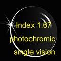 Index 1.67 Aspheric Photochromic single vision lens AR coatings / super thinner Prescription lens / Transition lens/Brown Gray
