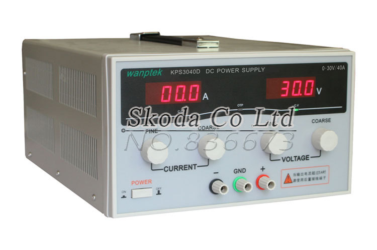 30V 40A KPS-3040D High-Power Switching Variable DC Power Supply 220V