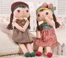 41cm Kawaii Plush Stuffed Animal Cartoon Kids Toys for Girls Children Baby Birthday Christmas Gift Angela Rabbit Girl Doll