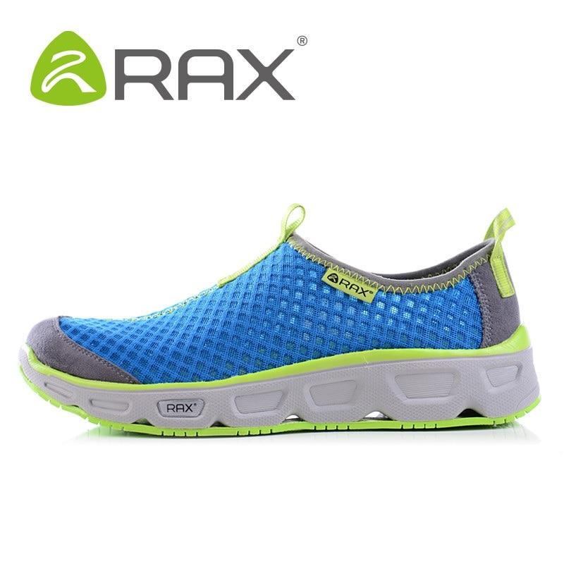 Rax hommes femmes Aqua chaussures plein air respirant chaussures de plage léger à séchage rapide chaussures de Wading anti-dérapant Sport baskets AA12323
