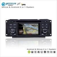 YESSUN для Jeep Liberty/Wrangle 2002 ~ 2007 Android Мультимедиа Радио CD DVD плеер с gps навигатором Карта Навигация Аудио Видео Стерео
